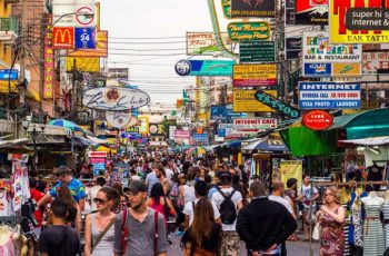 Khaosan Road renovation nears completion